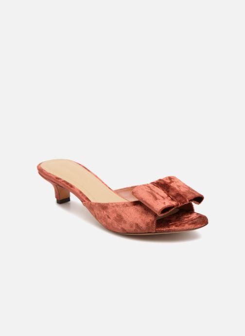 Sandales et nu-pieds Mari Giudicelli Jeanne Sandale Rouge vue détail/paire