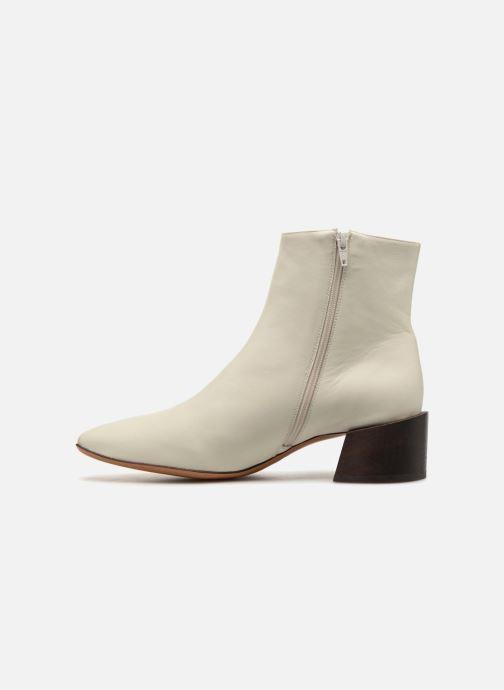 Bottines et boots Mari Giudicelli Classic Boot Blanc vue face