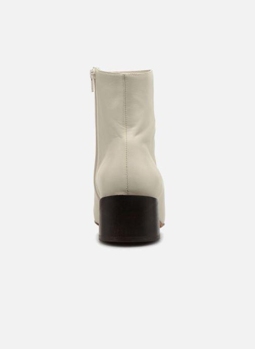 Bottines et boots Mari Giudicelli Classic Boot Blanc vue droite