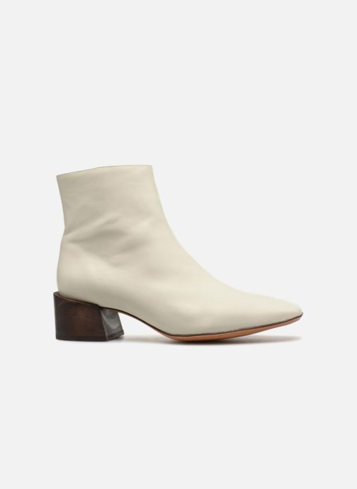 Bottines et boots Mari Giudicelli Classic Boot Blanc vue derrière