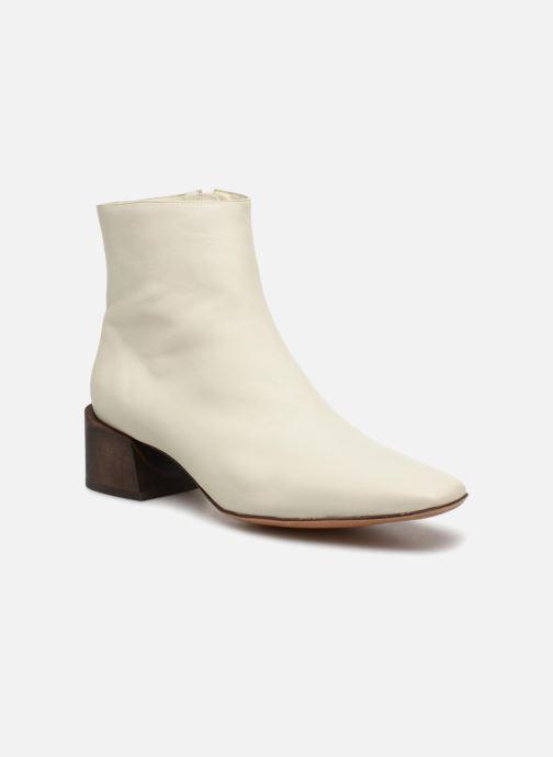 Bottines et boots Mari Giudicelli Classic Boot Blanc vue détail/paire