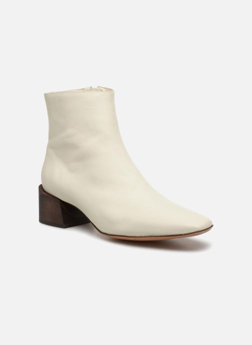 Stiefeletten & Boots Mari Giudicelli Classic Boot weiß detaillierte ansicht/modell