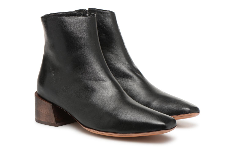 Bottines et boots Mari Giudicelli Classic Boot Noir vue 3/4