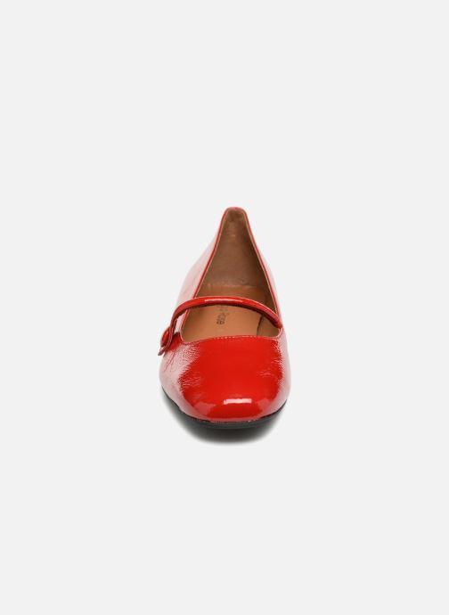Ballerines Georgia Rose Ladiam Rouge vue portées chaussures