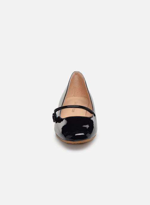 Ballerines Georgia Rose Ladiam Bleu vue portées chaussures
