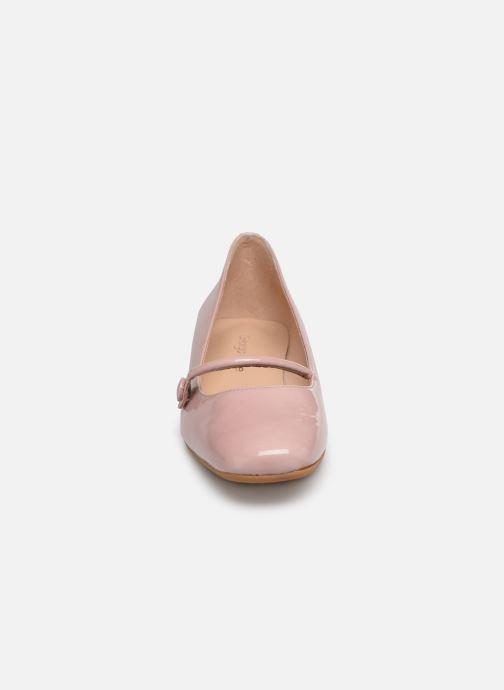 Ballerines Georgia Rose Ladiam Rose vue portées chaussures