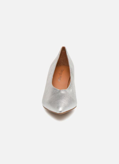 Escarpins Georgia Rose Ladies Argent vue portées chaussures