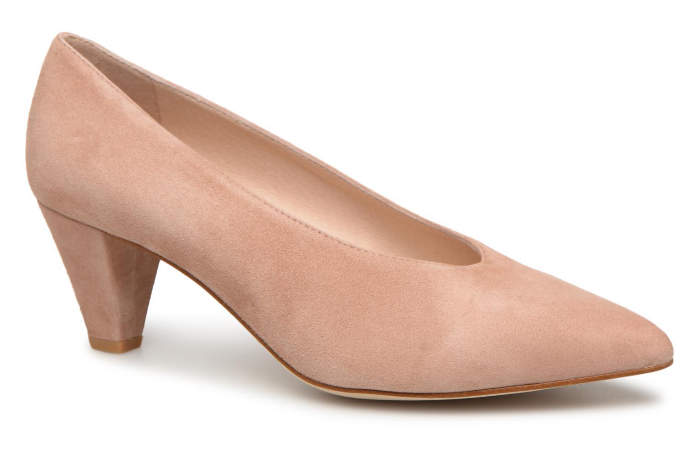 Geox D Elina B D72P8B Damen Schuhe Pumps Or Rose Pumps Leder