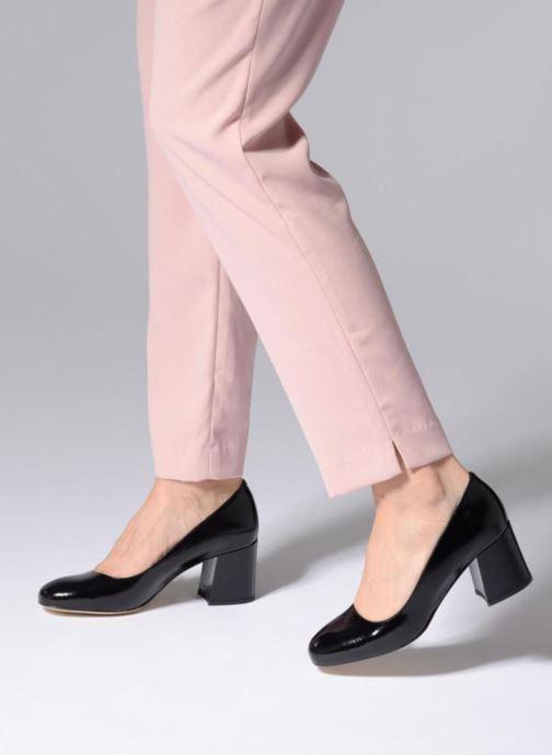 Zapatos de tacón Georgia Rose Lafrima Negro vista de abajo