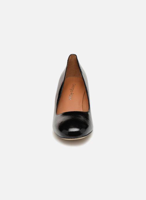 Zapatos de tacón Georgia Rose Lafrima Negro vista del modelo