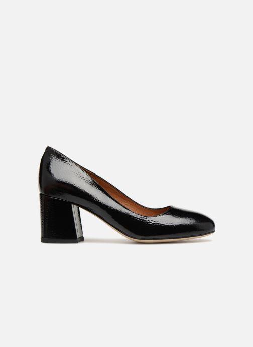 Zapatos de tacón Georgia Rose Lafrima Negro vistra trasera