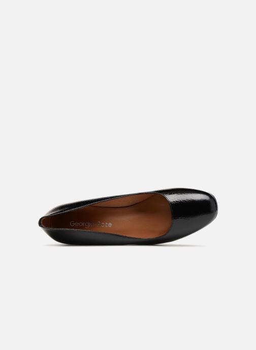 Zapatos de tacón Georgia Rose Lafrima Negro vista lateral izquierda