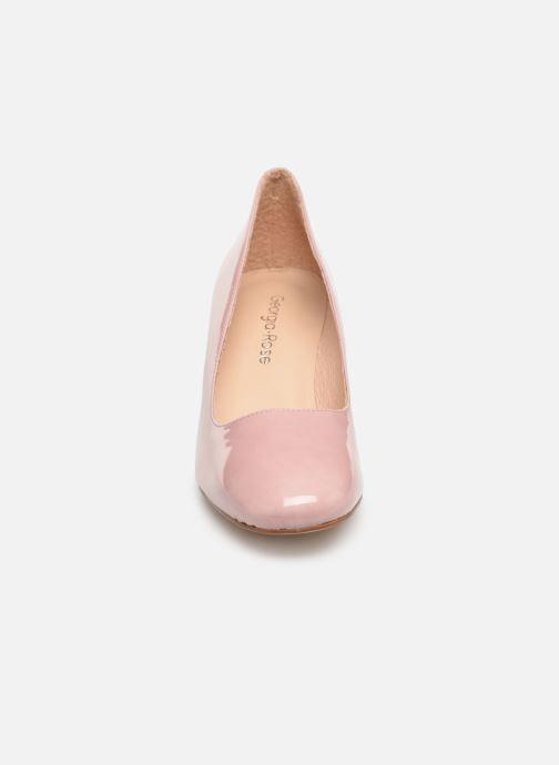 High heels Georgia Rose Lafrima Pink model view