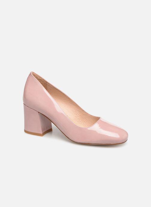 High heels Georgia Rose Lafrima Pink detailed view/ Pair view