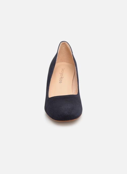 Zapatos de tacón Georgia Rose Lafrima Azul vista del modelo