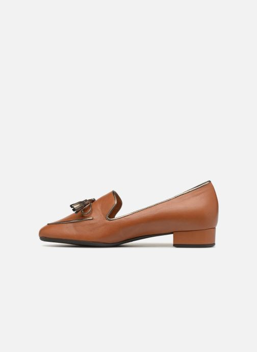 Loafers Georgia Rose Liliana Brown front view