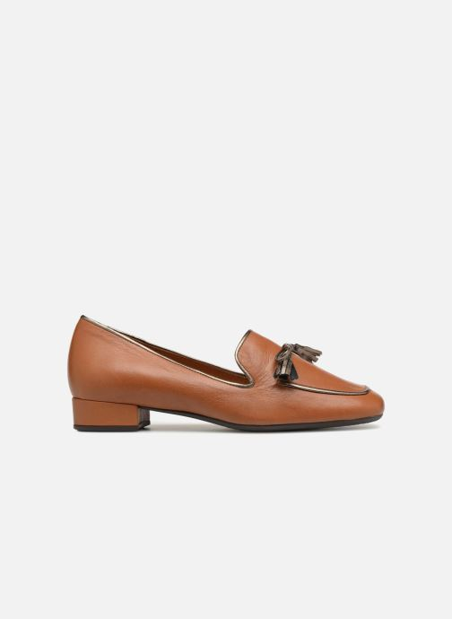 Loafers Georgia Rose Liliana Brown back view