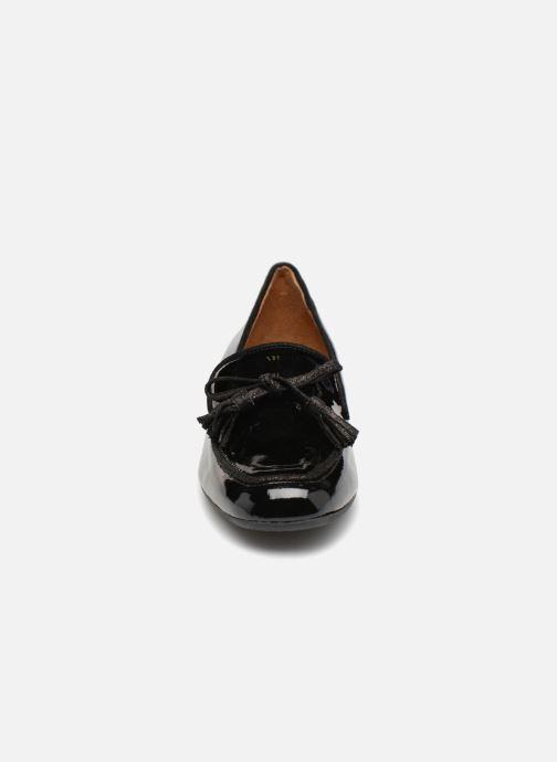 Mocassins Georgia Rose Liliana Noir vue portées chaussures