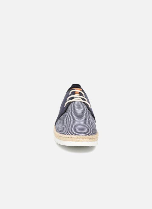 Espadrilles TBS Acciano Bleu vue portées chaussures