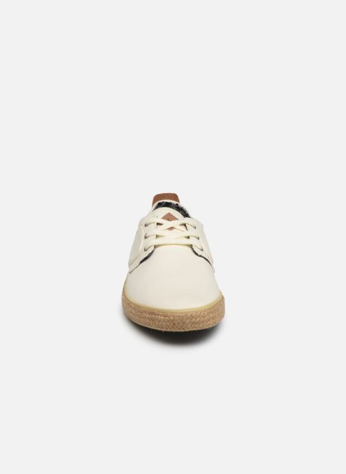 Baskets TBS Restart Blanc vue portées chaussures