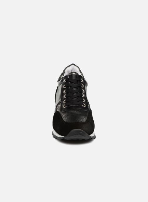Baskets Georgia Rose Cebloc Noir vue portées chaussures