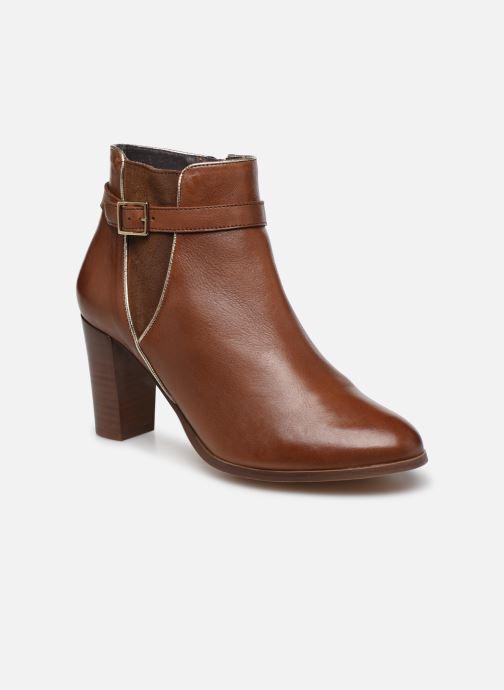 Boots en enkellaarsjes Georgia Rose Cechic Bruin detail