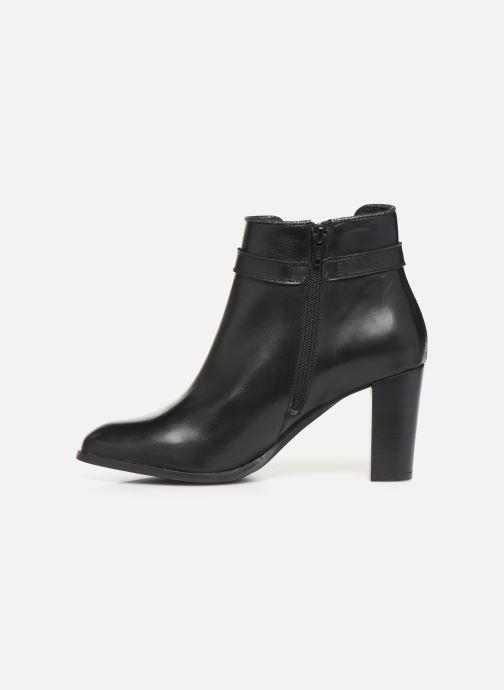 Bottines et boots Georgia Rose Cechic Noir vue face