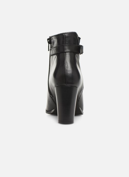 Bottines et boots Georgia Rose Cechic Noir vue droite