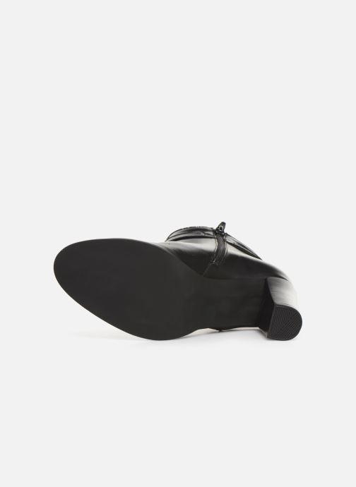 Bottines et boots Georgia Rose Cechic Noir vue haut