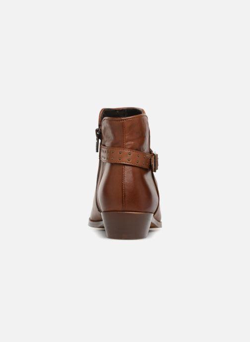 Bottines et boots Georgia Rose Cecloua Marron vue droite
