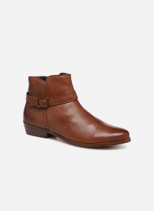 Bottines et boots Georgia Rose Cecloua Marron vue détail/paire
