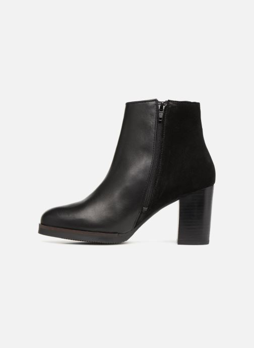 Bottines et boots Georgia Rose Cepatin Noir vue face