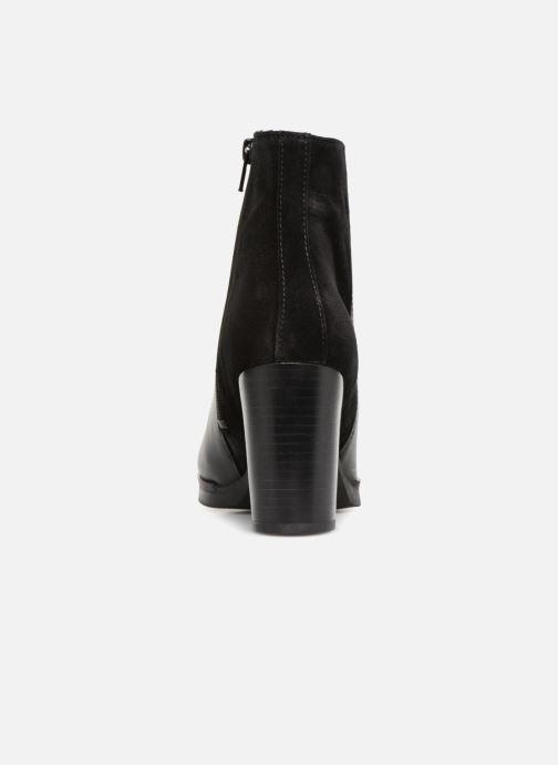 Bottines et boots Georgia Rose Cepatin Noir vue droite