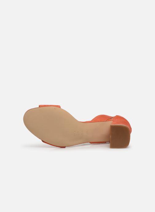 Escarpins Shoe the bear MAY S Orange vue haut
