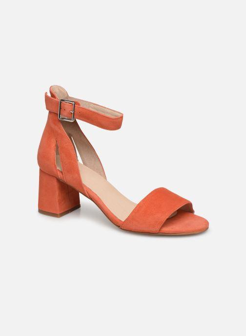 Escarpins Shoe the bear MAY S Orange vue détail/paire