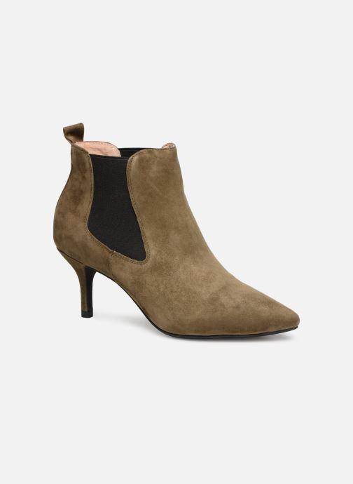 chaussures the bear AGNETE CHELSEA S (vert) - Bottines et bottes chez