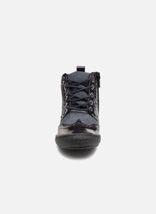 Sneakers I Love Shoes Solina Leather Azzurro modello indossato