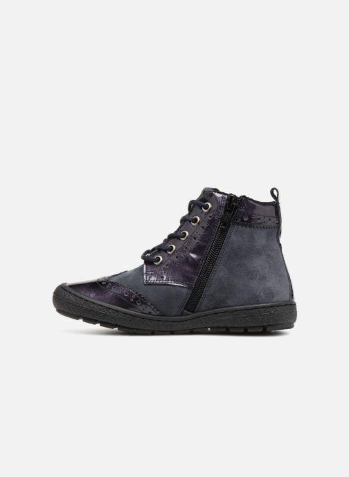 Deportivas I Love Shoes Solina Leather Azul vista de frente