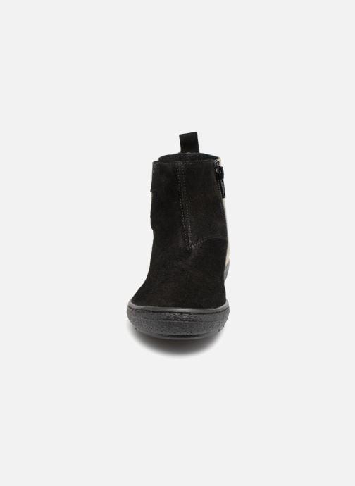 Bottines et boots I Love Shoes Soclair Leather Noir vue portées chaussures