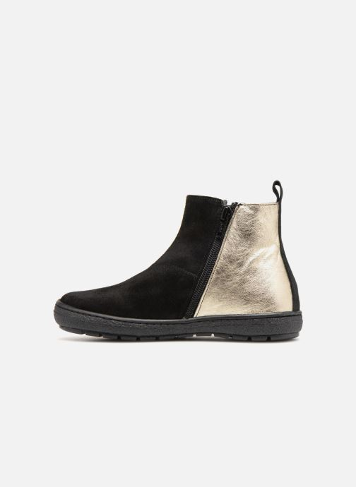 Bottines et boots I Love Shoes Soclair Leather Noir vue face