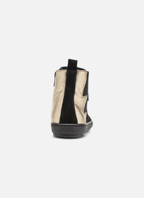 Bottines et boots I Love Shoes Soclair Leather Noir vue droite