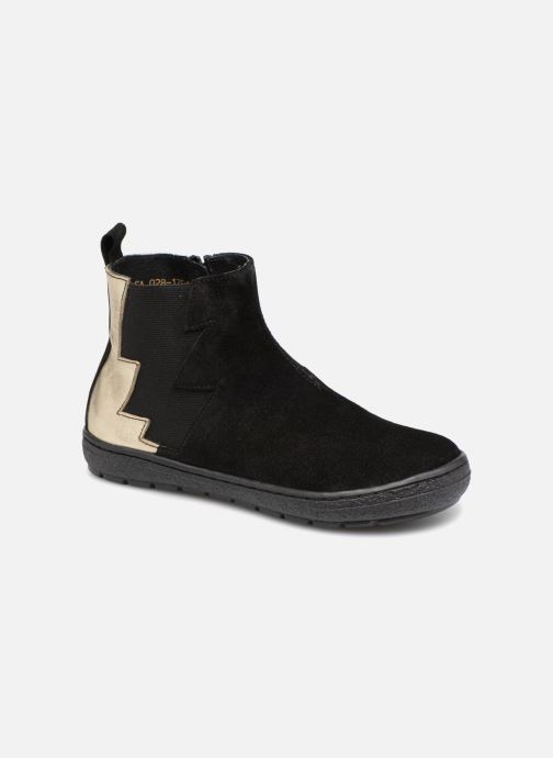 Ankle boots I Love Shoes Soclair Leather Black detailed view/ Pair view