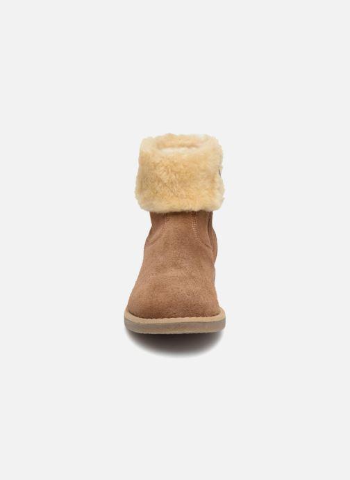 Botines  I Love Shoes Soluri Leather Marrón vista del modelo