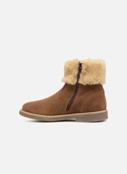 Botines  I Love Shoes Soluri Leather Marrón vista de frente