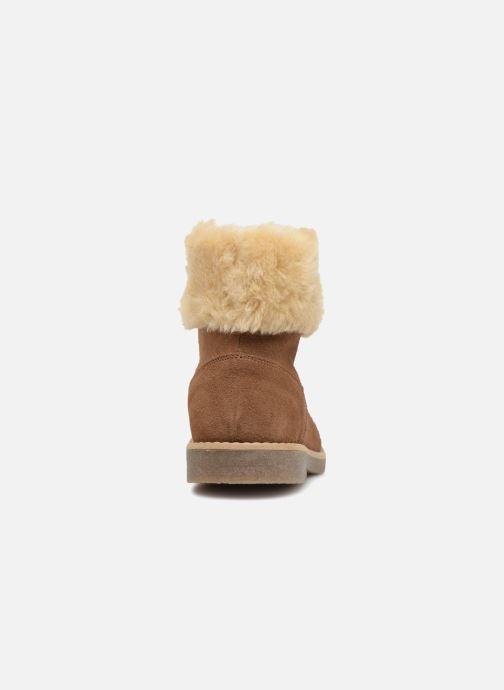 Botines  I Love Shoes Soluri Leather Marrón vista lateral derecha