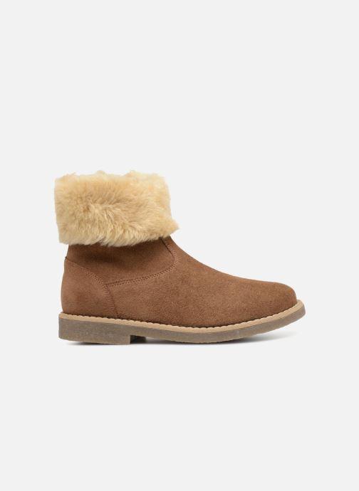 Botines  I Love Shoes Soluri Leather Marrón vistra trasera