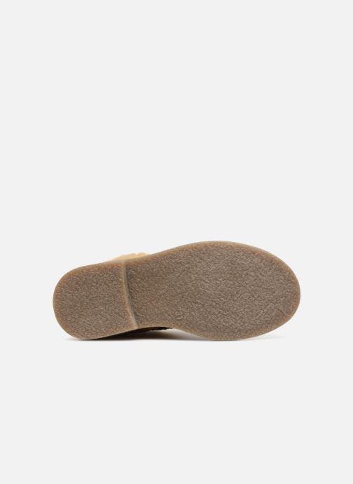 Botines  I Love Shoes Soluri Leather Marrón vista de arriba