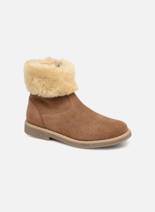 Bottines et boots I Love Shoes Soluri Leather Marron vue détail/paire