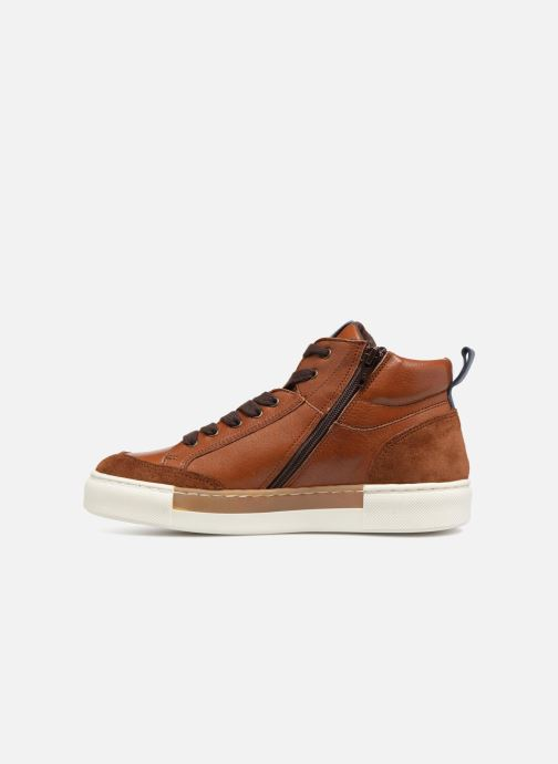 Trainers I Love Shoes Solido Leather Brown front view