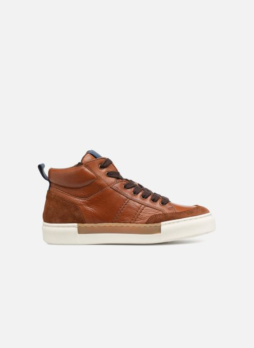 Trainers I Love Shoes Solido Leather Brown back view